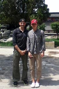 Valeri with Liu Zige